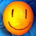 Iloinen appelsiini