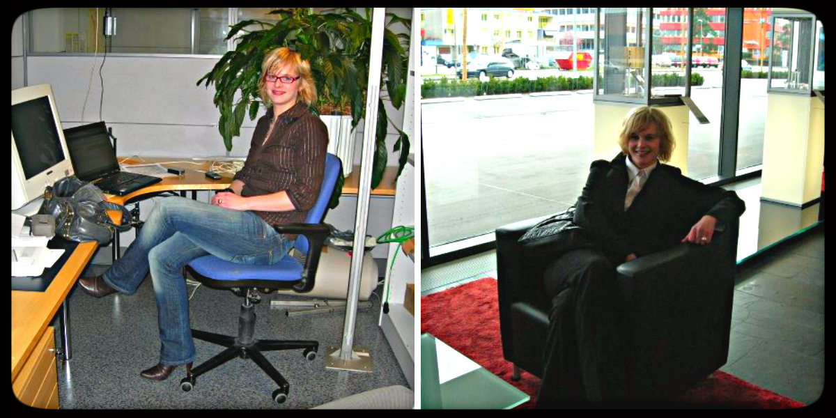 Unelmia ja toimistohommia Oulussa ja Sveitsissä